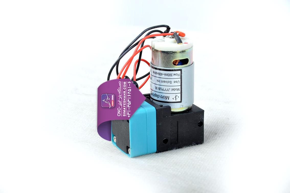 پمپ مرکب 24 ولت دستگاه بنر